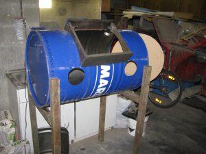 fabriquer une cabine de sablage
